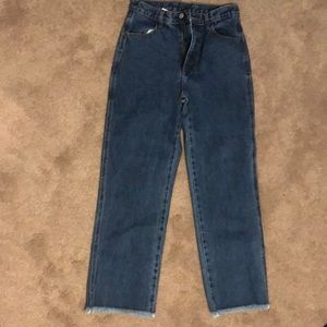 Brandy Melville Medium Wash Mom Jeans